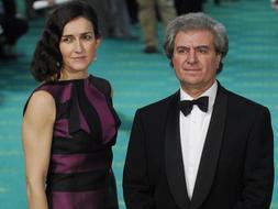 Ángeles González-Sinde y César Antonio Molina a su llegada a la pasada edición de los premios Goya / EFE (Fuente: abc.es)